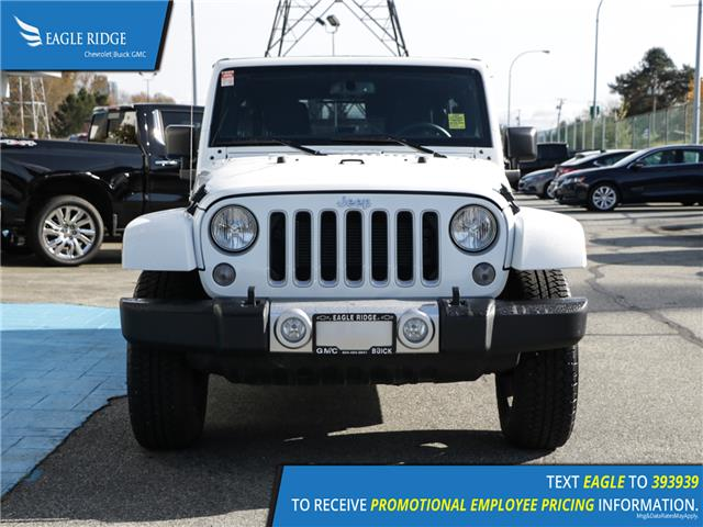 2018 Jeep Wrangler JK Unlimited Sahara (Stk: 189289) in Coquitlam - Image 2 of 13