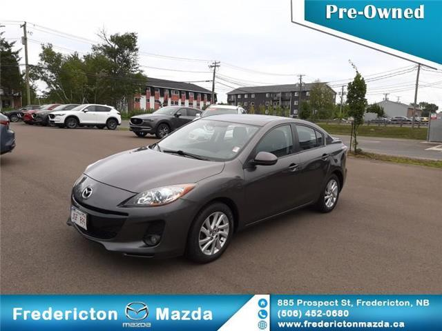 2013 Mazda Mazda3 GS-SKY (Stk: 19130A) in Fredericton - Image 1 of 18