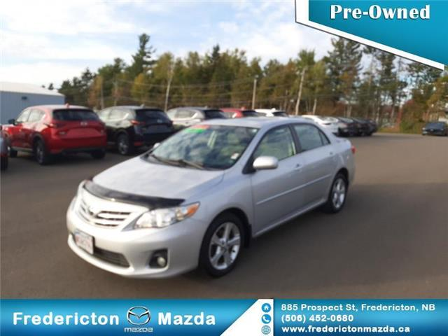 2013 Toyota Corolla LE (Stk: 19245A) in Fredericton - Image 1 of 17