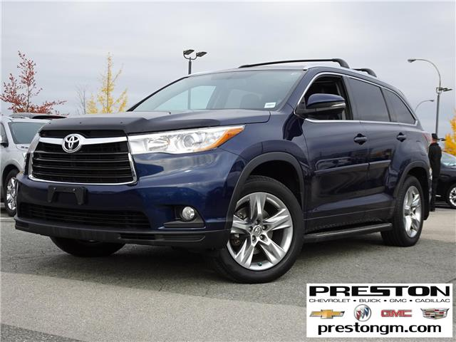 2014 Toyota Highlander Limited (Stk: 9018251) in Langley City - Image 1 of 28