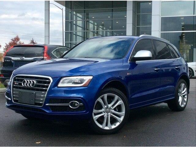 2015 Audi Q5 3.0T Progressiv (Stk: 13385A) in Gloucester - Image 1 of 27