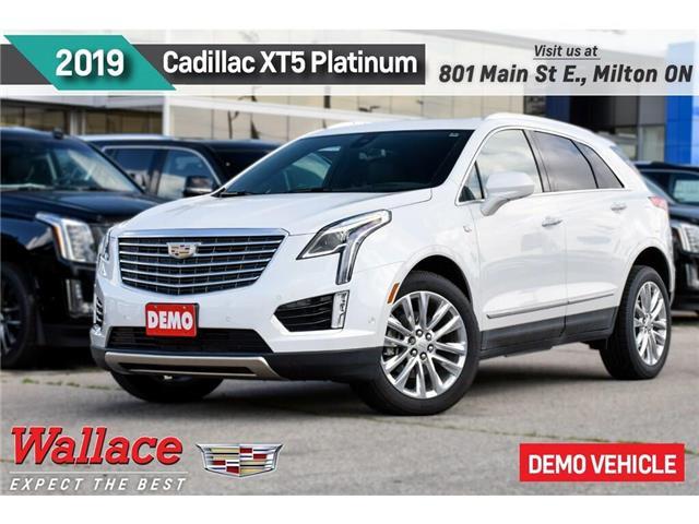 2019 Cadillac XT5 Platinum/DEMO/AWD/SUNRF/HTD LTHR STS&WHL/ (Stk: 161483D) in Milton - Image 1 of 12