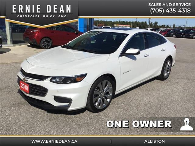 2018 Chevrolet Malibu Premier (Stk: 15032A) in Alliston - Image 1 of 15