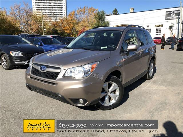 2014 Subaru Forester 2.5i Touring Package (Stk: 535531) in Ottawa - Image 1 of 24