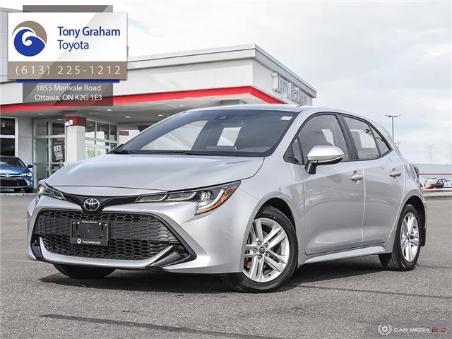 2019 Toyota Corolla Hatchback Base (Stk: U9184) in Ottawa - Image 1 of 29