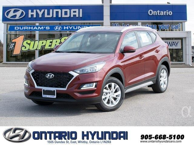 2020 Hyundai Tucson Preferred w/Sun & Leather Package (Stk: 091537) in Whitby - Image 1 of 20
