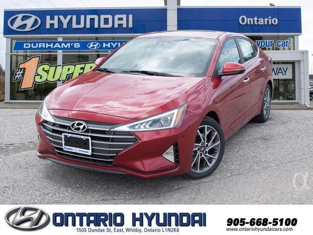 2020 Hyundai Elantra Luxury (Stk: 971768) in Whitby - Image 1 of 21