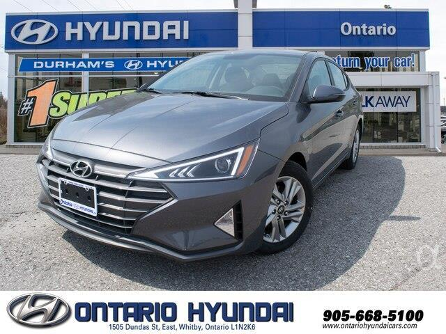 2020 Hyundai Elantra Preferred w/Sun & Safety Package (Stk: 980535) in Whitby - Image 1 of 17