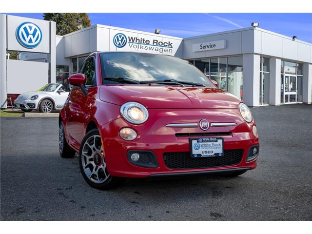 2012 Fiat 500 Sport 3C3CFFBR0CT378163 JB727742A in Vancouver