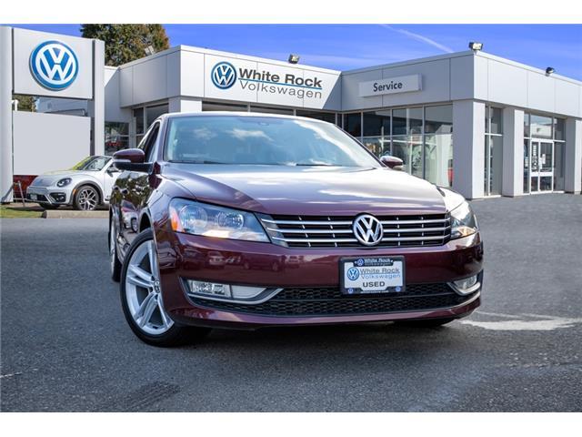 2014 Volkswagen Passat 2.0 TDI Highline 1VWCN7A32EC053401 VW0993 in Vancouver