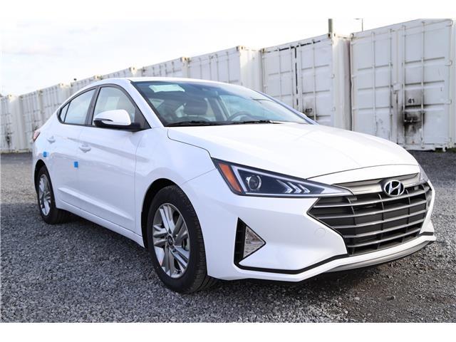 2020 Hyundai Elantra Preferred w/Sun & Safety Package (Stk: R05273) in Ottawa - Image 1 of 10