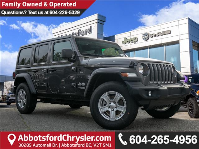 2020 Jeep Wrangler Unlimited Sport (Stk: L124246) in Abbotsford - Image 1 of 24