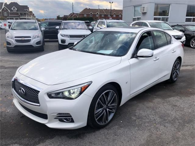 2015 Infiniti Q50 Base (Stk: 420940) in Ottawa - Image 1 of 3