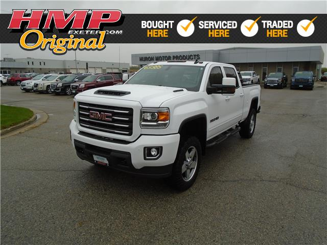 2019 GMC Sierra 2500HD SLT (Stk: 82990) in Exeter - Image 1 of 27