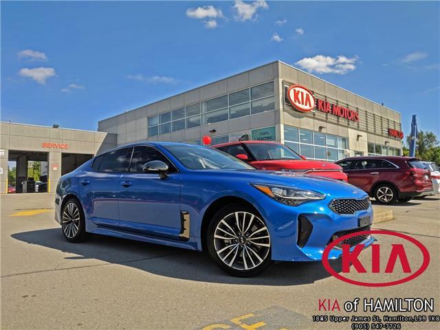 2019 Kia Stinger GT-Line (Stk: ST19007) in Hamilton - Image 1 of 19