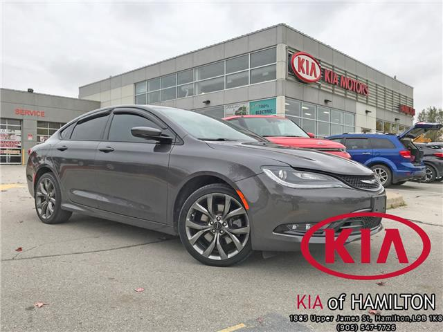 2015 Chrysler 200 S (Stk: ST19013A) in Hamilton - Image 1 of 30