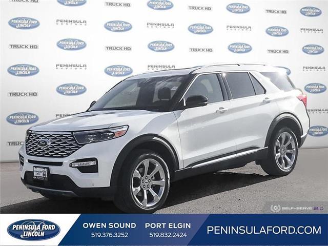2020 Ford Explorer Platinum (Stk: 20EX08) in Owen Sound - Image 1 of 26