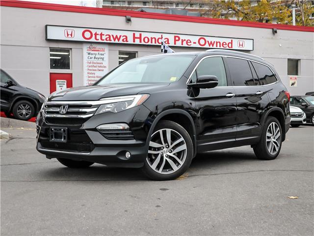 2017 Honda Pilot Touring (Stk: H7958-0) in Ottawa - Image 1 of 28
