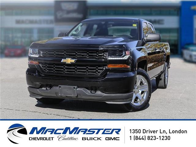 2018 Chevrolet Silverado 1500 Silverado Custom (Stk: 91014A) in London - Image 1 of 10