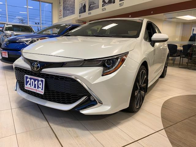 2019 Toyota Corolla Hatchback Base (Stk: CV046) in Cobourg - Image 1 of 12