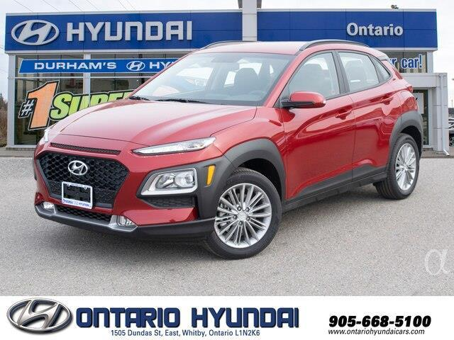 2020 Hyundai Kona 1.6T Ultimate w/Red Colour Pack (Stk: 420538) in Whitby - Image 1 of 21