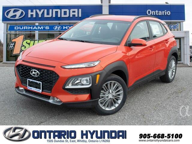 2020 Hyundai Kona 1.6T Ultimate w/Orange Colour Pack (Stk: 432185) in Whitby - Image 1 of 19