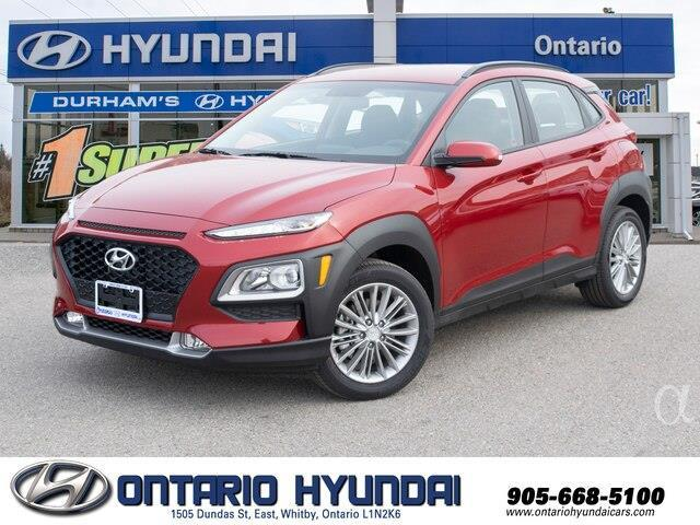 2020 Hyundai Kona 1.6T Ultimate w/Red Colour Pack (Stk: 428504) in Whitby - Image 1 of 21