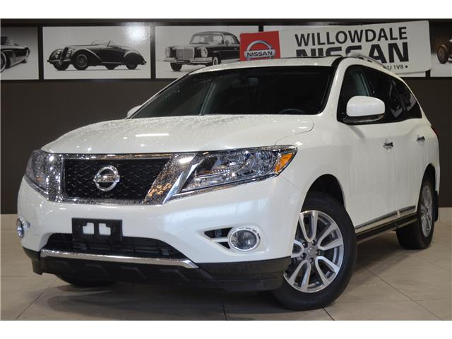 2016 Nissan Pathfinder SL (Stk: E7876A) in Thornhill - Image 1 of 33