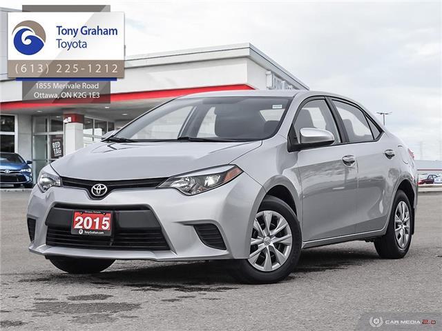 2015 Toyota Corolla CE (Stk: E8002) in Ottawa - Image 1 of 27
