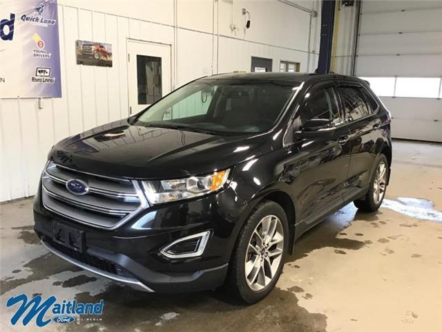 2015 Ford Edge Titanium (Stk: 94058) in Sault Ste. Marie - Image 1 of 27