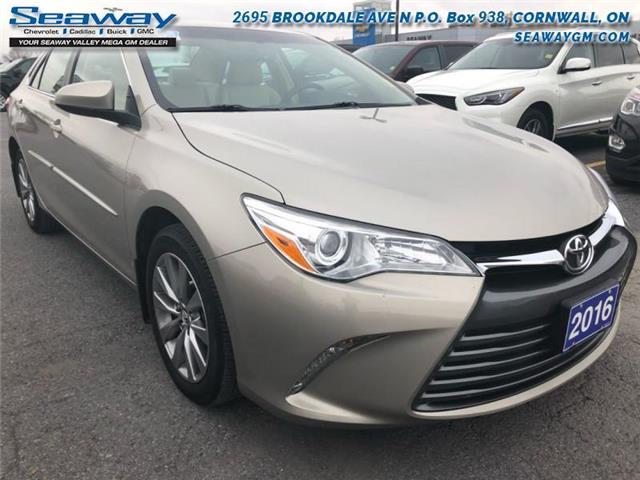 2016 Toyota Camry XLE (Stk: B2216) in Cornwall - Image 1 of 18