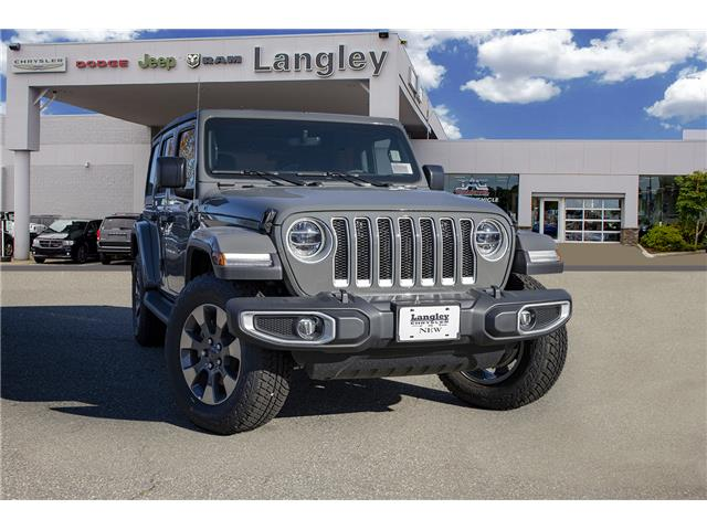 2019 Jeep Wrangler Unlimited Sahara (Stk: K654032) in Surrey - Image 1 of 22