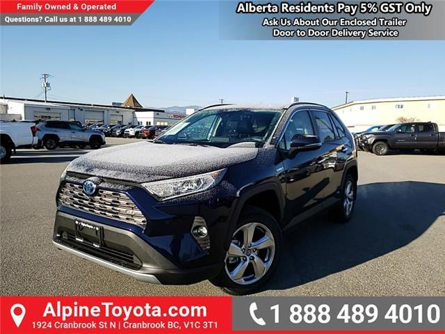 2020 Toyota RAV4 Hybrid Limited (Stk: W046534) in Cranbrook - Image 1 of 27