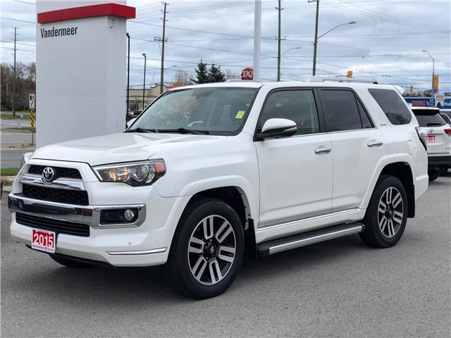 2015 Toyota 4Runner SR5 V6 (Stk: W4897) in Cobourg - Image 1 of 28