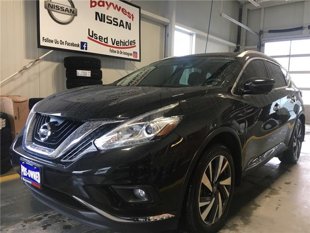 2017 Nissan Murano Platinum (Stk: P0726) in Owen Sound - Image 1 of 15