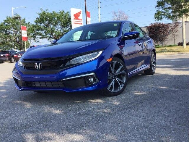 2020 Honda Civic Touring (Stk: 20106) in Barrie - Image 1 of 21