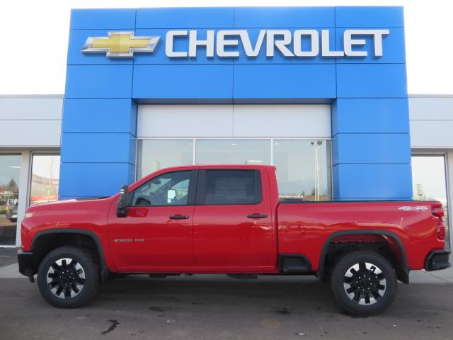 2020 Chevrolet Silverado 2500HD Custom (Stk: 20000) in STETTLER - Image 1 of 18