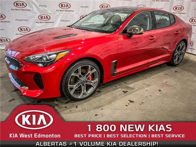 2019 Kia Stinger GT (Stk: 21222) in Edmonton - Image 1 of 44