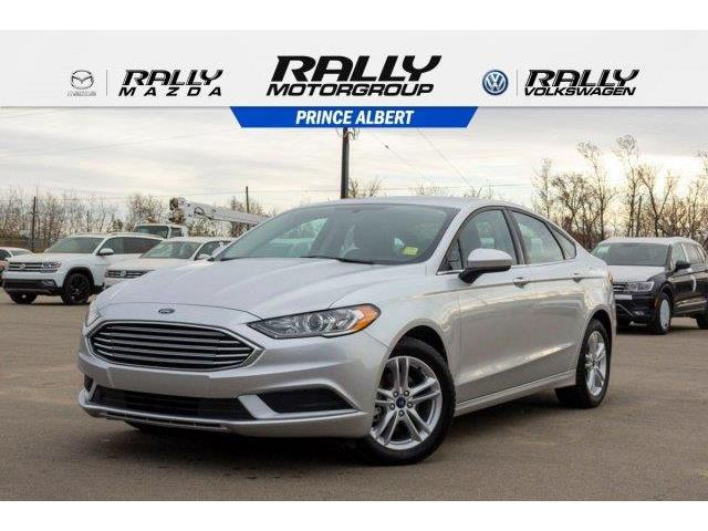 2018 Ford Fusion SE (Stk: V1076) in Prince Albert - Image 1 of 11