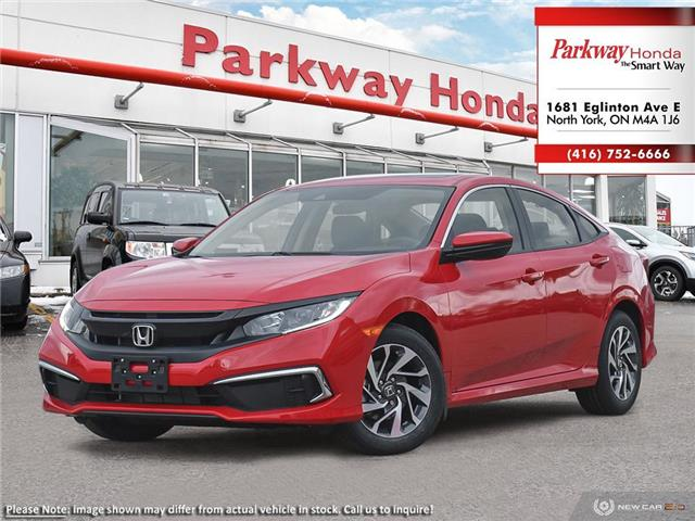 2020 Honda Civic EX (Stk: 26027) in North York - Image 1 of 23