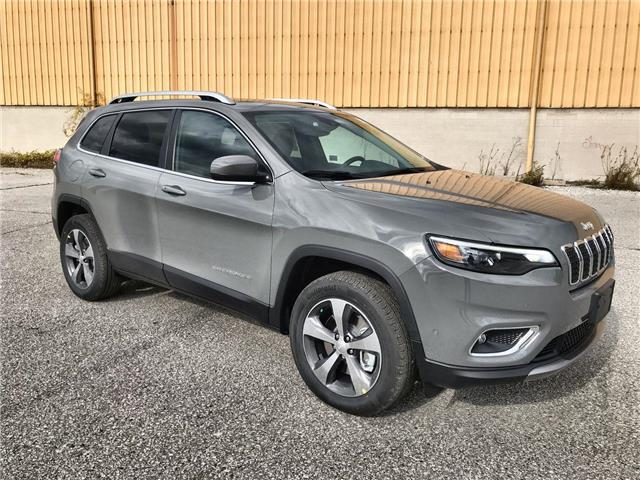 2020 Jeep Cherokee Limited (Stk: 2166) in Windsor - Image 1 of 14