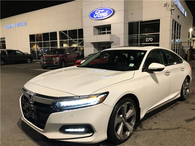 2018 Honda Accord Touring 1HGCV1F93JA802873 1961217A in Vancouver