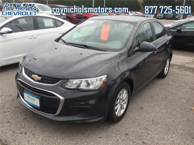 2018 Chevrolet Sonic LT Auto (Stk: P6467) in Courtice - Image 1 of 12