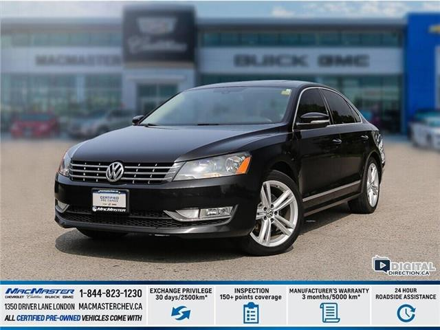 2015 Volkswagen Passat 1.8 TSI Highline (Stk: 9P140A) in London - Image 1 of 10