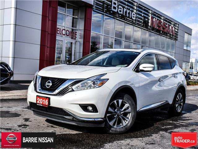 2016 Nissan Murano  (Stk: P4630) in Barrie - Image 1 of 30