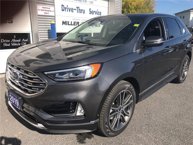2019 Ford Edge Titanium (Stk: 19381) in Cornwall - Image 2 of 14