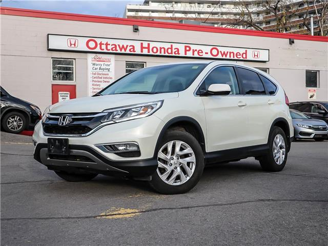 2016 Honda CR-V EX (Stk: H8011-0) in Ottawa - Image 1 of 27