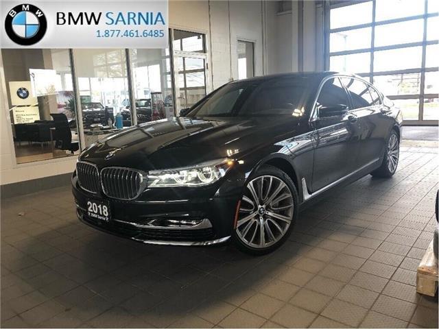 2018 BMW 750 Li xDrive (Stk: B1827) in Sarnia - Image 1 of 24