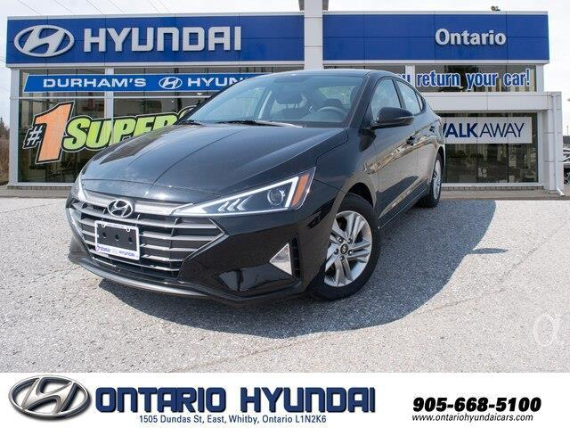 2020 Hyundai Elantra Preferred w/Sun & Safety Package (Stk: 980991) in Whitby - Image 1 of 17