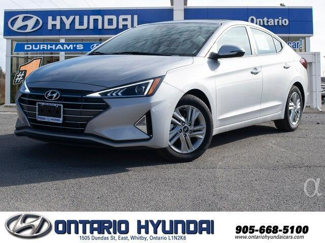 2020 Hyundai Elantra Preferred w/Sun & Safety Package (Stk: 979169) in Whitby - Image 1 of 18